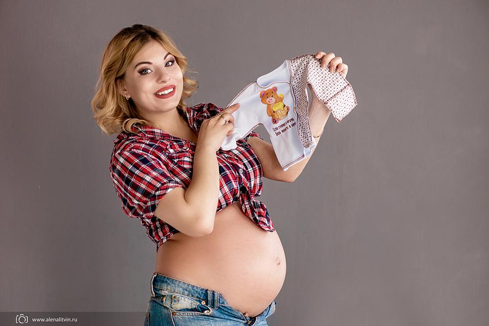 Фотограф Алена Литвин съемка беременность