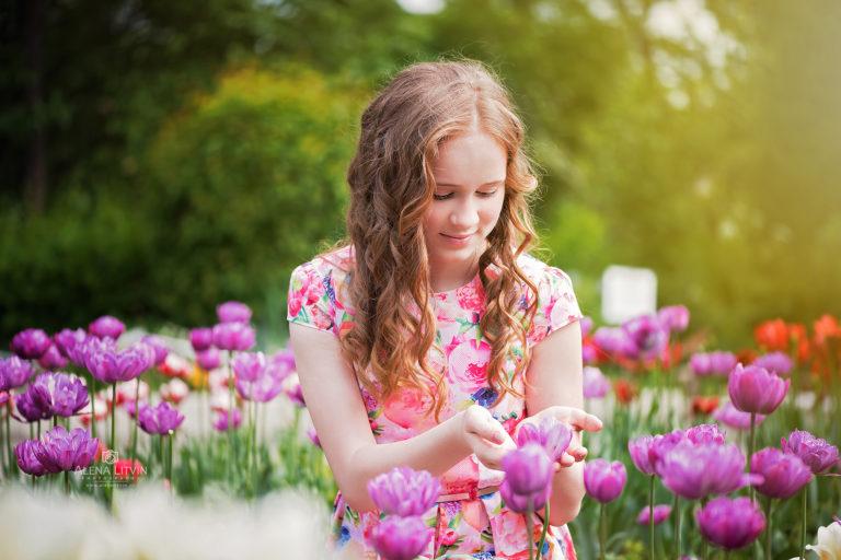 Весна, цветы, ботанический сад